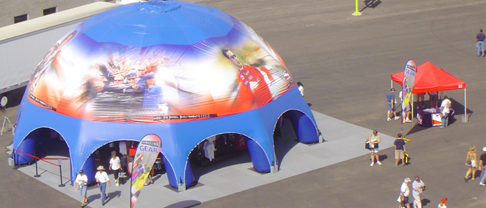 Domes u0026 Misting Tents. Inflatable ... & Inflatable Domes and Misting Tents | Inflatable Tent | Expo Booth ...